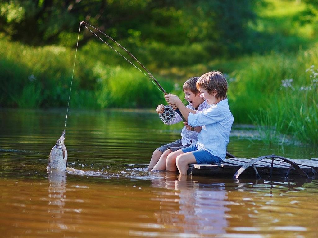 Картинки на рыбалке с удочкой